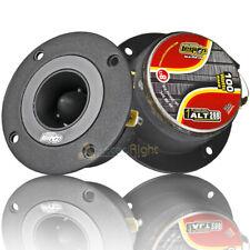 """Audio Legion 4"""" Super Bullet Tweeters 200 Watts Max 8 Ohm Pair ALT28B Black"""