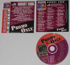 Madonna, Britney Spears, Christina Aguilera, Fastball, Phish - U.S. promo cd