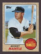 1968 MICKEY MANTLE 2010 TOPPS CYMTO CARDS YOUR MOM THREW OUT #17 ORIGINAL! NM!
