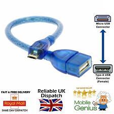 Micro USB Macho a Hembra USB una extensión Extensor Adaptador De Cable De Carga De Sincronización De Datos