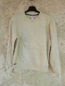Sweat shirt LACOSTE LIVE jaune taille L