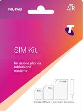 Telstra Prepaid Sim Card 3G 4G Standard Micro Nano Starter Kit Mobile Broadband