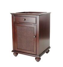 Pegasus Bimini 24 in. W x 21.75 in D x 33.5 in H Vanity Cabinet Only in Espresso