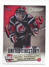 2014-15 Moose Jaw Warriors (WHL) Jayden Halbgewachs (San Jose Sharks)