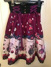 Alice and the Pirates Twilight Circus high waisted skirt in Purple