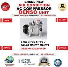 DENSO AC CONDITION COMPRESSOR BMW 3 F30 6 F06 7 F01/02 X5 E70 X6 E71 64529216466
