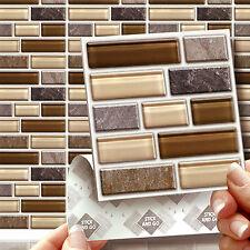 8 Peel, STICK & GO Vetro Pietra Tablet Piastrelle Adesivi per cucine bagni