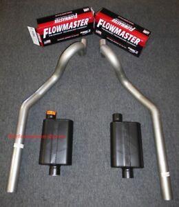 "64-77 Chevrolet Chevelle 3"" Mandrel Bent Exhaust - Flowmaster Super 44"