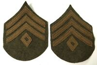 WWI US ARMY INFANTRY 1ST SERGEANT SLEEVE RANK CHEVRONS