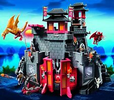 Playmobil Dragons Great Asian Castle Discontinued Set 5479 Brand New Unopened