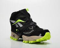 Reebok Classic InstaPump Fury Trail Shroud Men's Black Grey Volt Lifestyle Shoes