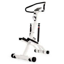 Folding Exercise Stepper with Heart Rate Monitor