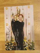 ORIGINAL Autogramm von Tilda Swinton. pers gesammelt. 20x30 Foto. 100% ECHT