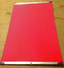 "Red 4ply UV Printing Blankets. Euro Made 20-5/8"" x 13-3/4"" x .077"" RYOBI 3404DI"