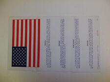 flag412 Cold war era Europe US Military Blood Chit  R2B