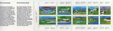 1985 Canada Stamp Booklet 10 X .32c, Forts Across Canada,  NO SALE TAX