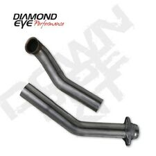 """Diamond Eye 162004 3"""" Down Pipe, Stainless, For 94-97 Ford"""