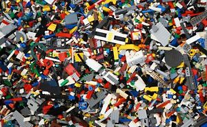 LEGO - 250g of MIXED Bricks Plates Parts & Pieces - Bundle Free TRACKED Postage