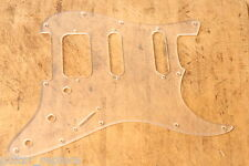 Golpeador Acrylic Transparente HSS Stratocaster Lonestar Pickguard  Humbucker