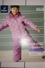 NEU OVP lila TCM Tchibo Schneeanzug 74/80 Skianzug Schnee Overall