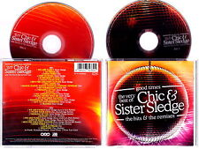 CHIC - SISTER SLEDGE The Very Best Of 2005 2 CD Nuovo RARITA'