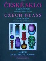Czech Glass 1940s to 1980s Part II.  Catalogue