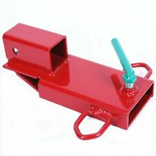 Kuafu Clamp On Forklift Hitch Receiver Pallet Fork Trailer Towing Adapter 2