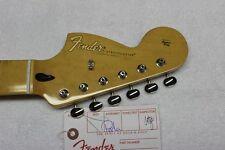 NEW Fender Jimi Hendrix Strat NECK & TUNERS Stratocaster Maple Reverse Headstock