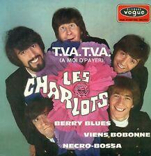 """LES CHARLOTS T.ETC.C. BERRY BLUES VIENS BOBONNE NECRO-BOSSA 7"""" EP (B656)"""