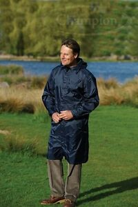 Waterproof Breathable Lightweight Long Jacket Packable PacBag Rain Coat Unisex