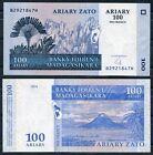 MADAGASCAR 100 ARIARY 2004 Pick 86 SC / UNC