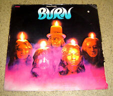 PHILIPPINES:DEEP PURPLE - Burn LP VHTF RARE Design 1st Press Parlophone Label