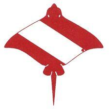 Scuba Diving Bumper Sticker Dive Flag Decal - Stingray - AUB211