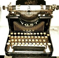 YOST MOD.20 RARA MACCHINA DA SCRIVERE  del 1912 OLD & RARE AMERICAN TYPEWRITER