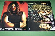 MILLE PETROZZA KREATOR NIGHTSTALKER 2013 METAL CALENDAR  POSTER