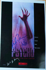 Julianne Moore, Anne Heche & William H Macy signed Psycho Poster - Exact proof
