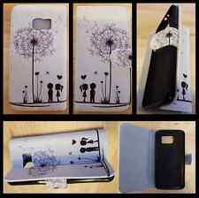 Samsung Galaxy S6 Edge+ Plus wallet case / Dandelion case / Uk seller free post