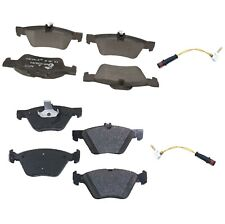 For Mercedes W211 E320 E350 Front and Rear Disc Brake Pad Sets and Sensors ATE