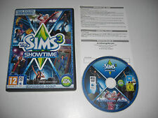 THE SIMS 3 SHOWTIME Add-On Expansion Pack Pc DVD Rom / Apple MAC SIMS3 Fast Post