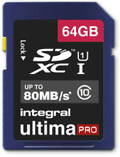 64GB Memory Card for Canon PowerShot SX50 HS SX500 IS Camera 64GIG SDXC Class 10