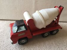 Vintage NYLINT Ready Mix Cement Mixer Pressed Steel Toy Truck Man Cave Decor