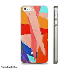 ABSTRACT PAINT ART BRIGHT NEW CASE FITS  IPHONE 4 4S 5 5S 5C 6 6S 7 8 SE PLUS X