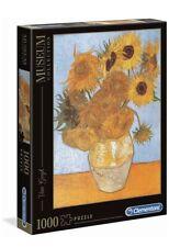 Clementoni 31438 Museum Collection-Van Gogh Sunflowers 1000 Pieces Puzzle Jigsaw
