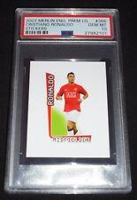 2007 Merlin Premier League #366 Cristiano Ronaldo Sticker PSA 10 Gem Mint POP 1