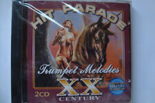 HIT PARADE XX Century-TRUMPET MELODIES (2 CD in the set, 36 tracks, NEW, SEALED)