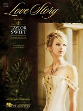 Love Story Sheet Music Piano Vocal Taylor Swift NEW 000353884