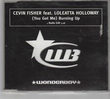 (GR30) Cevin Fisher ft Loleatta Holloway, (You Got Me) Burning Up - 1999 DJ CD