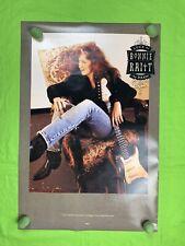 "Bonnie Raitt  ""Luck Of The Draw"" Poster 1991 Capitol Records 30x20"