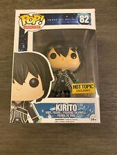 Funko Pop! #82 Sword Art Online Kirito (Hot Topic Exclusive)