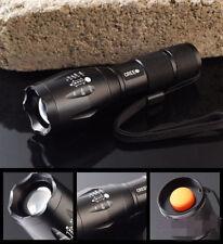 Lampe Torche 2000 Lumens LED CREE XM-L T6 étanche 5 Modes + Zoom 18650